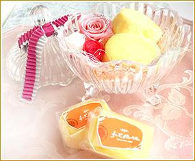 チーズケーキ&プリザーブド  フラワーセット