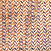 ハリスツイード(紫×オレンジ)