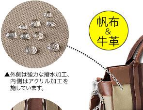 鞄職人・竹田 直樹氏 竹田さんの こだわりA4サイズ縦型トートバッグ