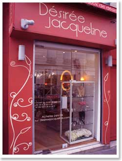 フランス・パリのアクセサリーブランド Desiree Jacqueline (デジレ・ジャクリーヌ)