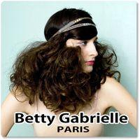 【Betty Gabrielle】 アンティークジュエリーの趣き、トリコットビジュー