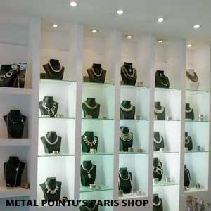 フランス・パリのアクセサリーブランド METAL POINTU'S