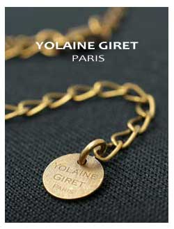 フランス・パリのアクセサリーブランド YOLAINE GIRET (ヨレーヌ・ジレ)