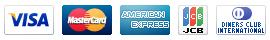VISA,MASTER,AMERICAN EXPRESS,JCB,DINERS