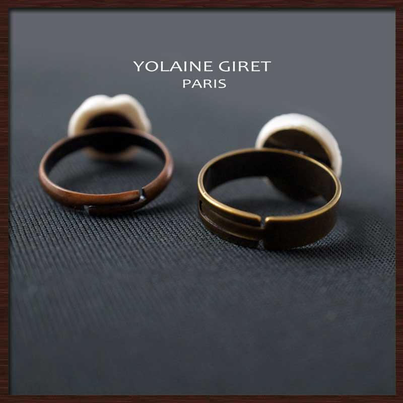 リモージュポーセリンのジュエリー(アクセサリー) YOLAINE GIRET リング