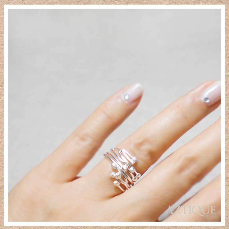 アズティークリング(指輪) シルバー